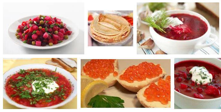 comidas típicas rusas