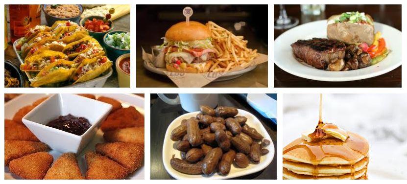 comidas tipicas americanas