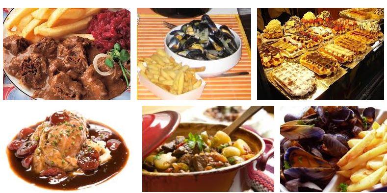 comidas tipicas bélgica