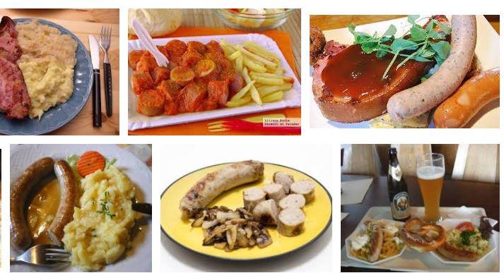 comidas tipicas de alemania