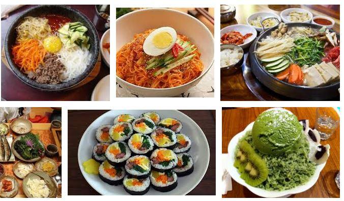comidas tipicas de corea