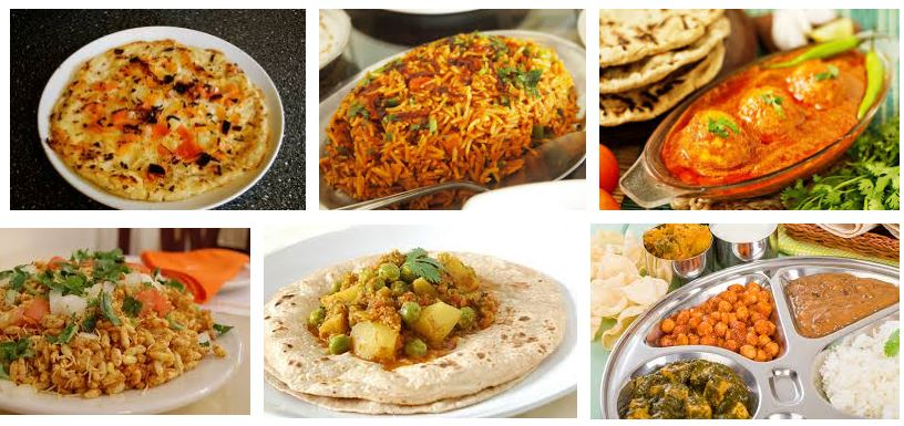 comidas tipicas de la india