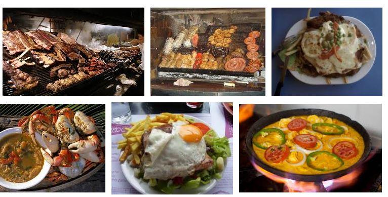 comidas tipicas de uruguay