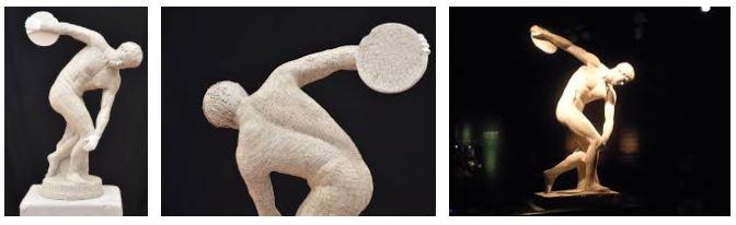 discobolo imagen de escultura