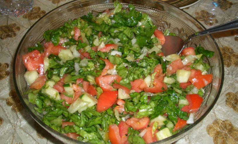 ensalada arabe