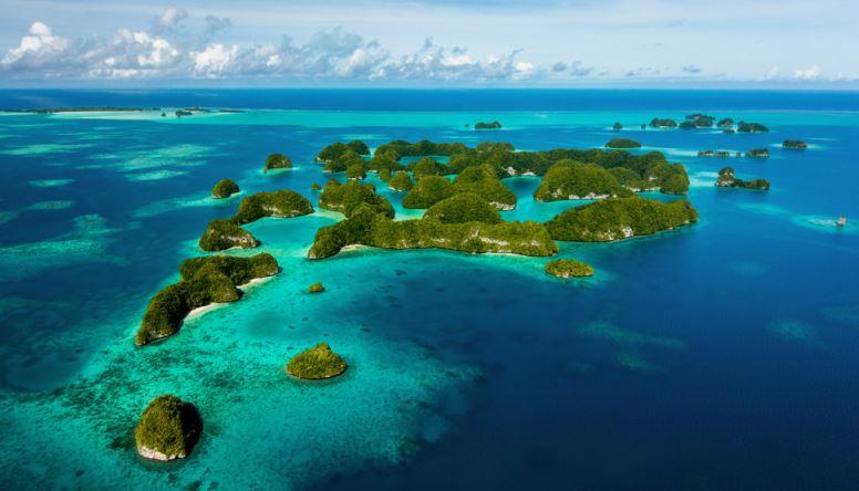 las islas de palau
