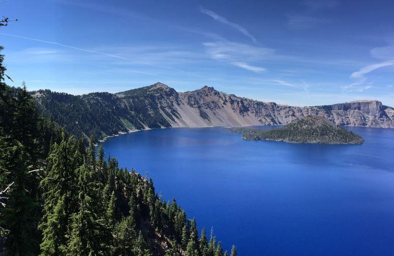 paisaje Lago del Crater