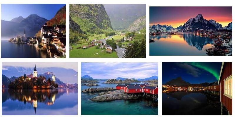 pueblos bonitos noruega