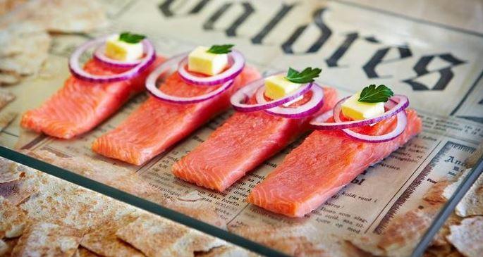 trucha Rakfisk comidas de noruega
