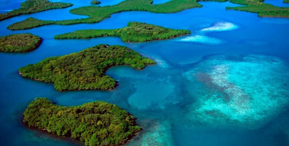 Arrecife del mar Andaman