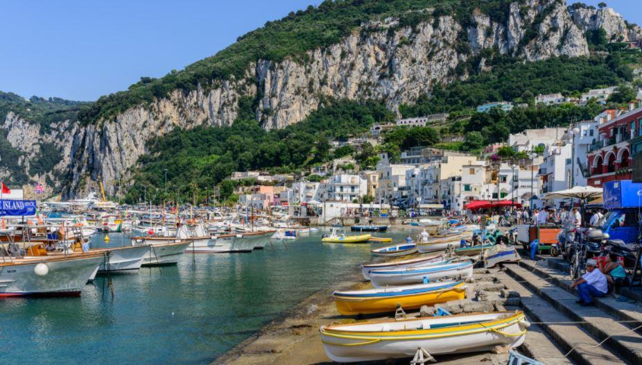 Capri pueblo mas bonito de italia