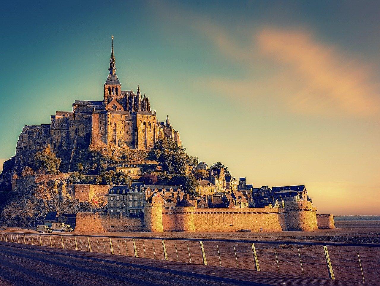 Castillo francia Mont Saint Michel