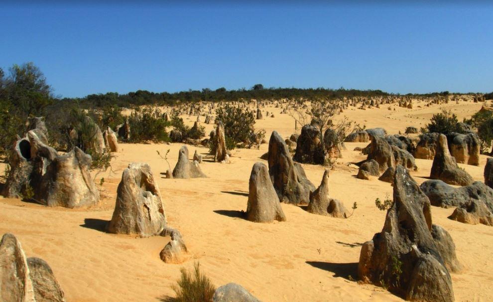 El desierto de los Pinaculos