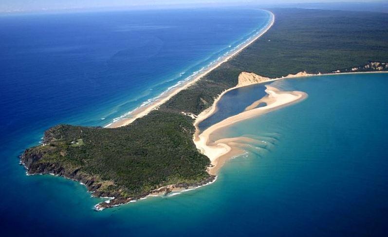 Fraser La isla de arena mas grande del planeta