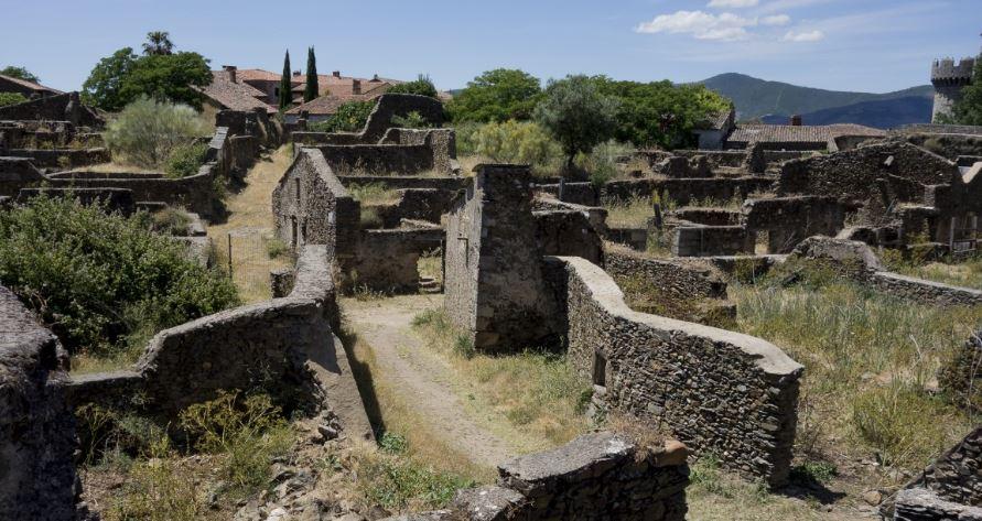 Granadilla pueblos abandonados
