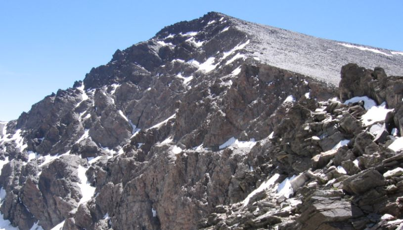 picos mas altos de españa Mulhacen Cordillera Penibetica