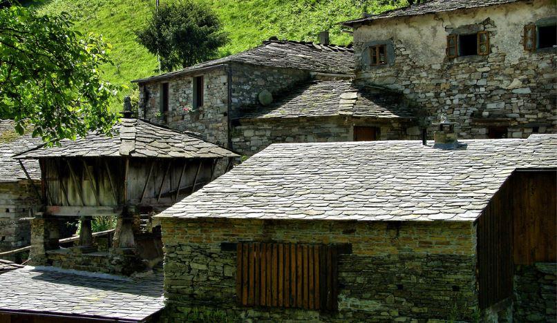 Os Teixois pueblos abandonados en españa