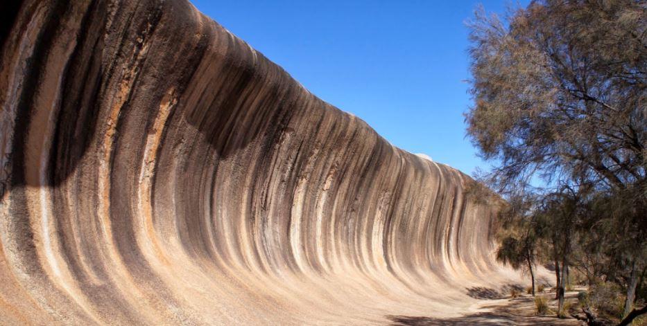Wave Rock la ola petrificada