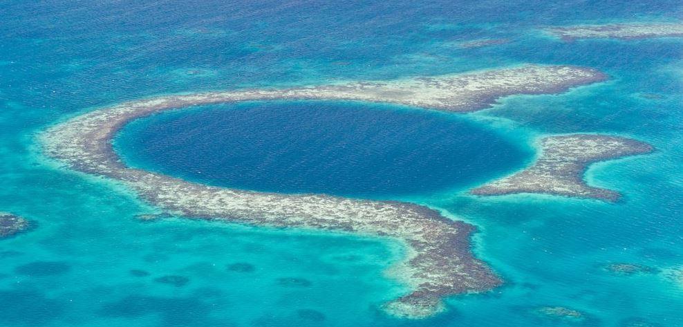 barrera de coral en belice