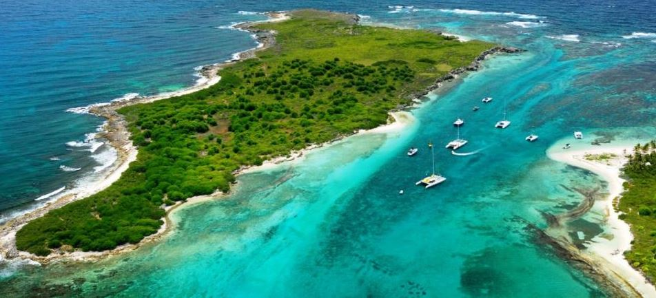 isla guadalupe caribe