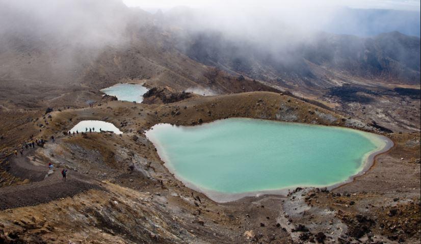 macizo volcanico de Tongariro