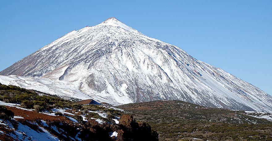 cual es el pico mas alto de españa teide