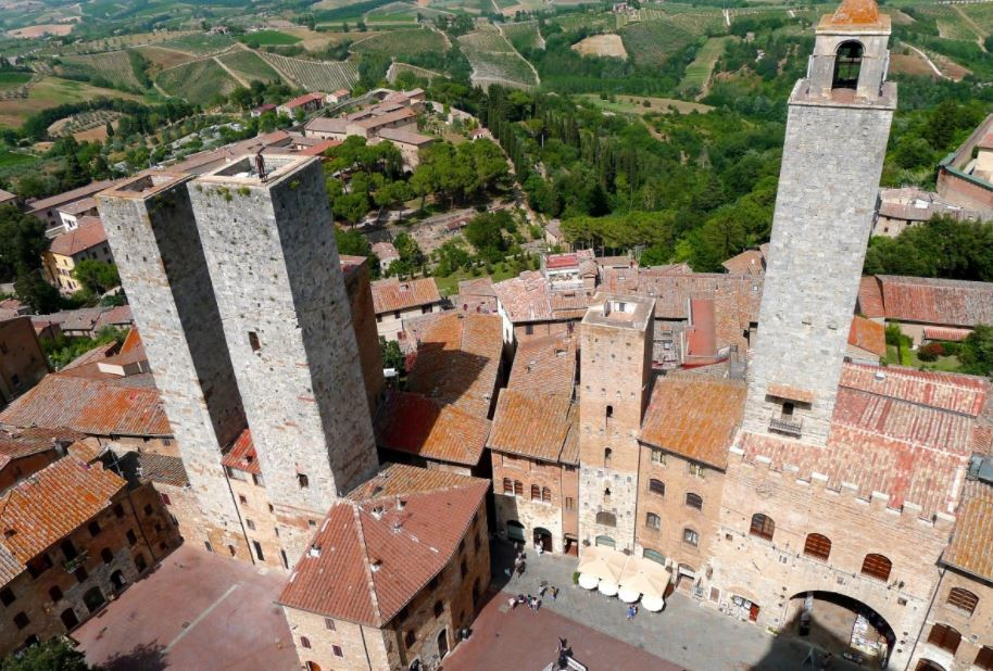 pueblos mas bonitos de italia San Gimignano