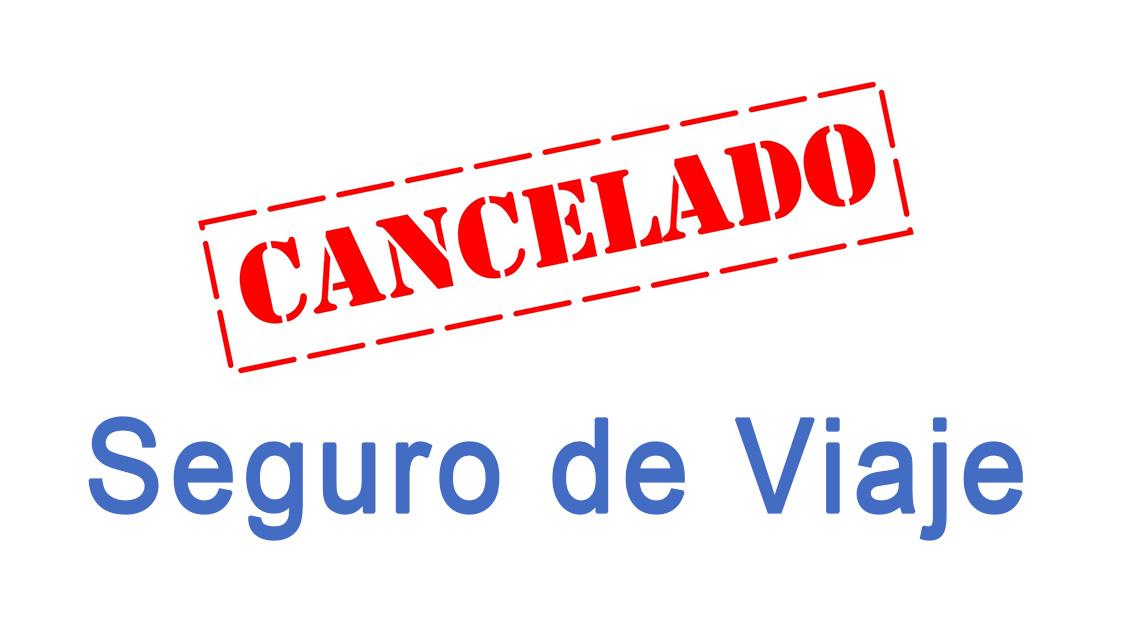 viaje cancelado