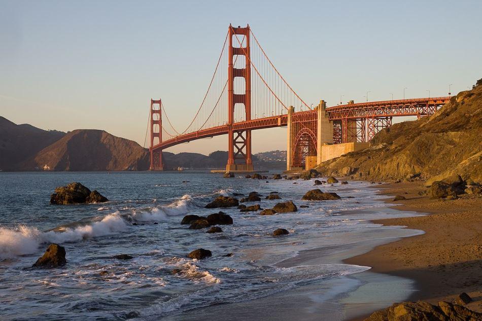 Baker Beach San Francisco playa nudista eeuu